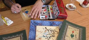 Traditional Book Arts: Calligraphy, Illumination (Tezhip) and Miniature Painting